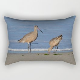 why the beak Rectangular Pillow