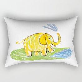 Funny elephant 3 Rectangular Pillow
