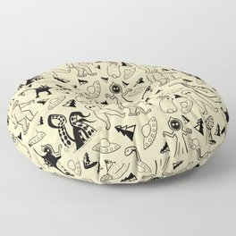 Cryptid Classics  Floor Pillow