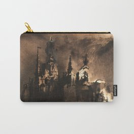 Victor Hugo - Fantastic Castle at Twilight Carry-All Pouch