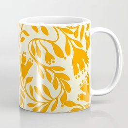 Impression indienne yellow sun. Coffee Mug