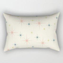 Mid Century Modern Stars Rectangular Pillow