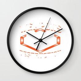Weapons Of Mass Destruction - Lacrosse Design Wall Clock
