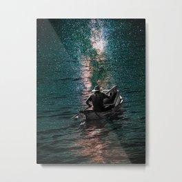 Fishing Stars Metal Print