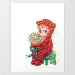 Little Jasmine Art Print
