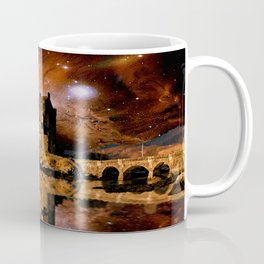 Cosmic Eilean Donan Coffee Mug