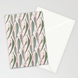 Bush Eucalyptus Pattern Stationery Cards