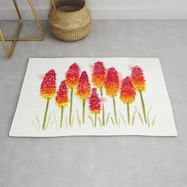 Torch Lillies Rug