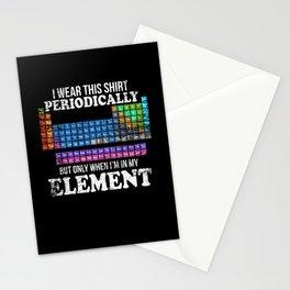 Funny Chemistry Chemist Element Stationery Cards