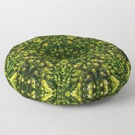 Mossy Flower Floor Pillow