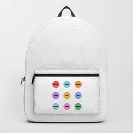 Hello in 9 languages Backpack