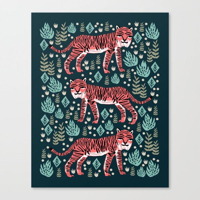 Safari Tiger by Andrea Lauren  Leinwanddruck