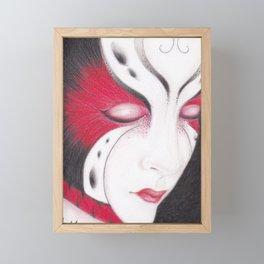 Butterfly Girl #4 Framed Mini Art Print