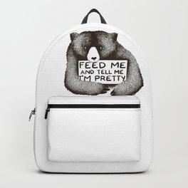 Feed Me and Tell Me I'm Pretty Backpack