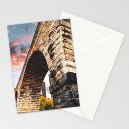 Stone Arch Bridge-Minneapolis Architecture Stationery Cards