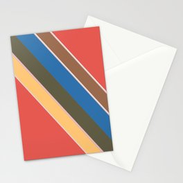 Oblique lines, diagonal Stationery Cards