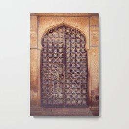Doors Of Rajasthan 4 Metal Print