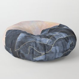 Mountainscape Floor Pillow