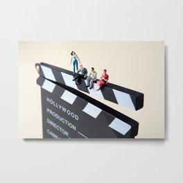 Cinema Toys Metal Print