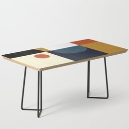mid century abstract shapes fall winter 4 Coffee Table