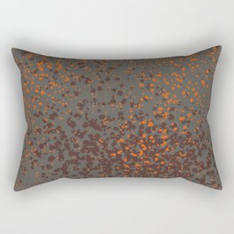 Halloween Splatter Pattern Rectangular Pillow
