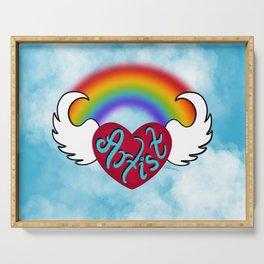 Heartist Rainbow Serving Tray