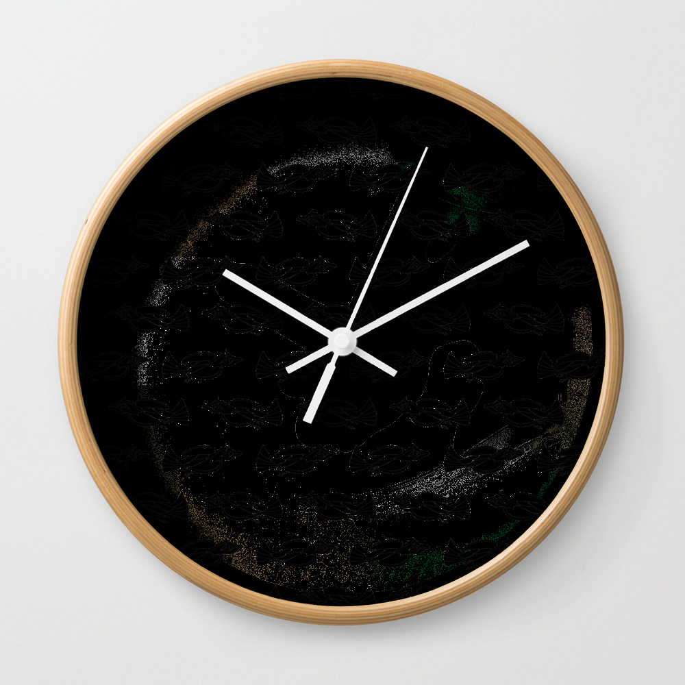 A Murder Of Crows Wall Clock by Bethpacentrilli CLK7902609
