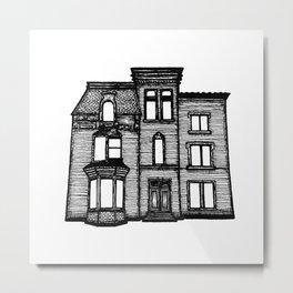 Haunted Mansion Halloween Metal Print