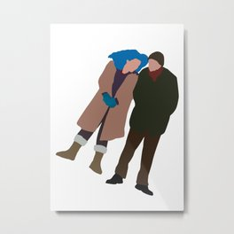 Eternal Sunshine of the Spotless Mind movie Metal Print