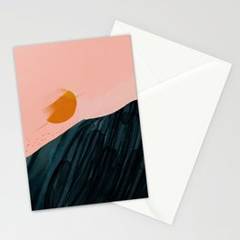 The Sunsets On New Horizons Stationery Cards