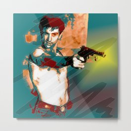 Hollywood Icons - Mr DeNiro Metal Print