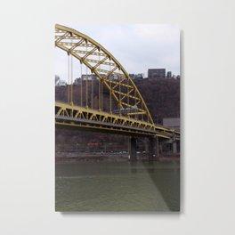 Ft. Pitt Bridge I Metal Print