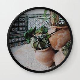 Cactii Wall Clock