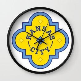 Kansas City Plaza Wall Clock