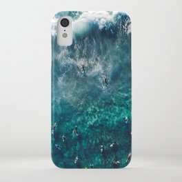 Surfing in the Ocean 2 iPhone Case