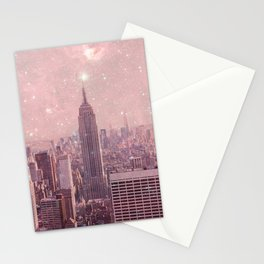 Stardust Covering New York Stationery Cards