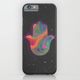 hamsa marble iPhone Case