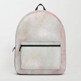 Softest blush pink marble Backpack