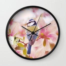 Blossom Buddies Wall Clock