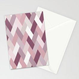Rose, Purple, Neutral Geometry IA Stationery Cards