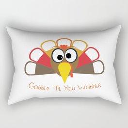 Wobble Turkey 2 Rectangular Pillow