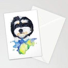 Shih tzu puppy Stationery Cards