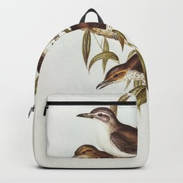 Horned Grebe from Birds of America (1827) by John James Audubon etched by William Home Lizars Backpack
