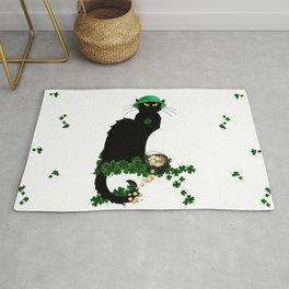 Le Chat Noir - St Patrick's Day Rug