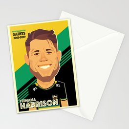 Teimana Harrison - Northampton Saints Stationery Cards