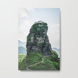 Fanjingshan Metal Print