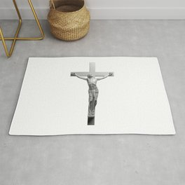 Jesus On The Cross Rug