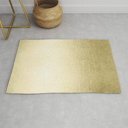 Simply Gilded Palace Gold Rug
