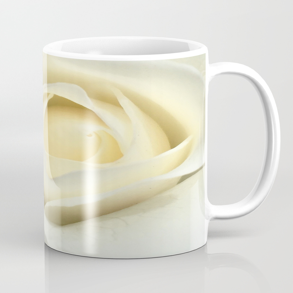 White Rose Of The Parking Structure Mug by Mspitaletto MUG8033376