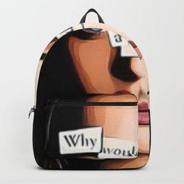 Hannah's story Backpack